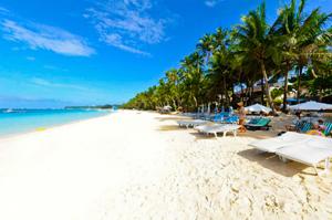 Boracay Island White Sand Beach