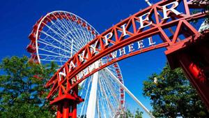 Chicago Navy Pier Ferry Wheel
