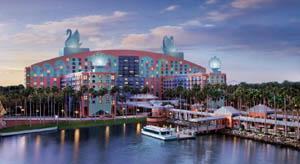 Walt Disney World Swam Dolphin Resort